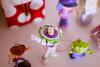 """""""ao infinito e além!!!"""" (Natália Viana) Tags: toys toystory buzzlightyear woody aliens brinquedos miniaturas natáliaviana"""