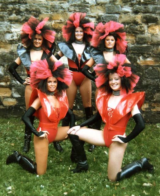 CHELSEA DANCERS JAPAN-KOREA 1986-87 10