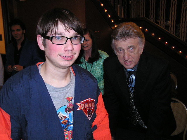 Me with the great DJ Fontana