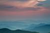 Breathe (HipChicklette (perenially catching up)) Tags: pink blue sunset green grey quiet peaceful zen pastels serene breathe overlook stillness blueridgeparkway ridges sorryivebeenawaysolong happy2012 cantwaittocatchupwithyouandyourstreams