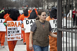 Witness Against Torture: Chantal Pushes the Cage