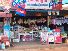 Local convenience store  (Ban Lung, Cambodia 2011) (paularps) Tags: travel holiday nature vakantie asia cambodia flickr culture olympus leisure angkor 2012 reizen flickrcom destinations 2011 vakantiefotos adventuretravel arps paularps epl1 olympusepl1