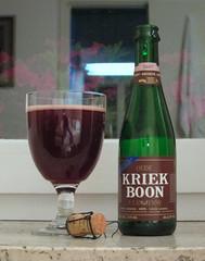 Boon, Oude Kriek (shyzaboy) Tags: beer glass bottle belgium belgie ale belgië palm beerbottle boon lambic kriek lembeek flemishbrabant oudekriek brouwerijpalm brouwerijfboon palmbrewery frankboon fboon