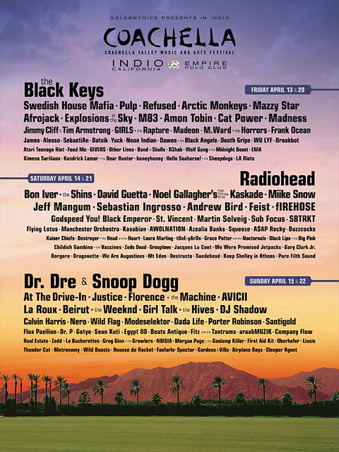 Coachella Valley Music & Arts Festival 2012