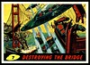 "Mars Attacks #7 ""Destroying the Bridge"" (cigcardpix) Tags: mars vintage advertising comic graphic ephemera fantasy horror sciencefiction attacks reprint tradecards gumcards"