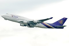 "Thai Airways Boeing 747-4D7 HS-TGX  MSN 27725 ""Sirisobhakya"" (Jimmy LWH) Tags: aircraft boeing flugzeug boeing747 747 fra tha avion tg 747400 sigma100300mm vliegtuig boeing747400 staralliance aeroplano eddf 7474d7 波音 ex100300f4 hstgx 星空联盟 lwh1988 泰国航空 29oct2011eddf msn27725"