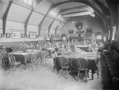 Reading Room, Elise Sandes Soldiers Home, Curragh Camp (National Library of Ireland on The Commons) Tags: pictures flowers ireland sunday newspapers july books flags photographs soldiers uniforms 16 checkers 1910s britisharmy blackboard eason troops readingroom vases 1916 kildare curragh leinster draughts billiardtable soldiershome nationallibraryofireland curraghcamp regimentalcrest easonson easoncollection acts152 goldenscatext sandescentresforsoldiersandairmen elisesandes