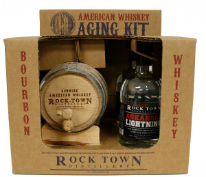 Rock Town Distillery Package Design