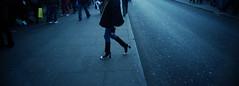 FootWear In the Street.. (Dominica69) Tags: woman color london film 35mm town shoes slim kodak walk camden wide 400 analogue ultra c41
