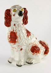 4. 19th Century Staffordshire Spaniel