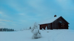 Mountain Lodge (Roskifte) Tags: winter mountain nature norway landscape norge cabin perfect outdoor magic norwegen himmel activities hytte magisk roskifte nofk blinkagain bestofblinkwinners