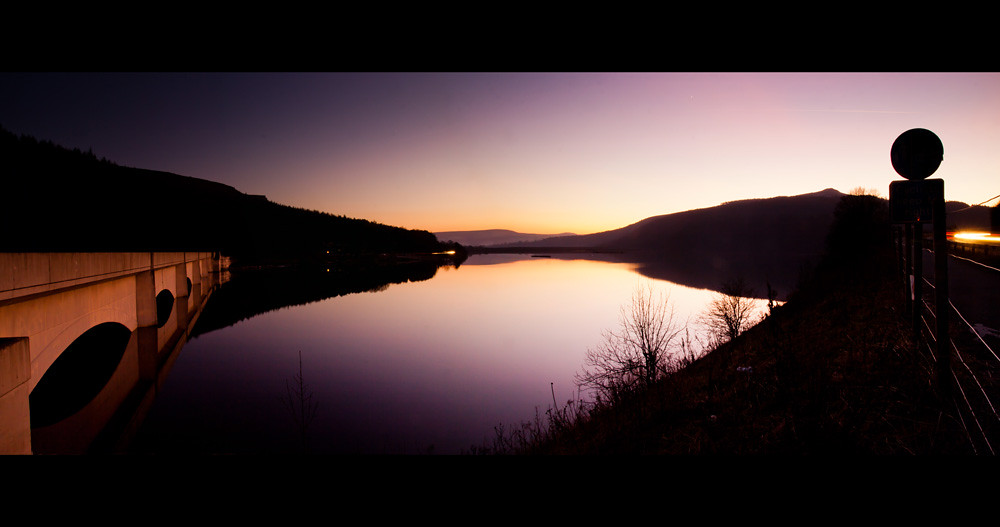 Ladybower Reservoir at Dusk