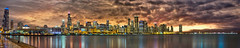 (Entire Panorama) 70 Exposures - Massive Chicago Night Skyline Panorama (Adler Planetarium Looking West) (Mister Joe) Tags: city urban panorama chicago santafe skyline night reflections illinois nikon downtown skyscrapers loop parks fieldmuseum lakemichigan il shore navypier dynamicrange trumptower michiganavenue stitched congresshotel hdr heritagebuilding johnhancockbuilding chasetower sheddaquarium daleycenter watertowerplace metropolitantower leoburnett aoncenter jaypritzkerpavilion lakepointtower ibmplaza parktower chicagoboardoftrade kluczynskifederalbuilding smurfitstonebuilding twoprudentialplaza 311southwacker harborpoint attcorporatecenter 900northmichigan cnaplaza oneprudentialplaza rrdonnelley 111southwacker railwayexchangebuilding 340onthepark olympiacentre pittsfieldbuilding unitedbuilding threefirstnationalplaza midcontinentalplaza northpierapartments chicagotitleandtrust 55easterie willistower onemuseumparkwest theparkshore bluecrossandblueshieldtower