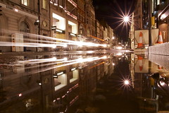 scramble (maybemaq) Tags: street uk longexposure england black reflection london cars water car shop night shopping dark puddle flow lights trafficlight store stream strada traffic camino britain geometry smooth bank symmetry beam midnight transparency shops lighttrails stores mayfair underconstruction reflexions signal aftertherain hsbc westend recent bondstreet roadwork scramble waterreflection lightstream wetreflection maybemaq the4elements colorphotoaward blinkagain