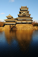Matsumoto-j,  (Matt Scandrett) Tags: reflection japan nagano  matsumotocastle matsumotoj