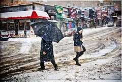 Slipping on our thoughts (magneticart) Tags: nyc snow umbrella thoughts streetphoto conceptual streetphotos roadcrossing slipping streetphotographer snoflakes newyorksnow newyorkstreetphotography magneticart magneticpiccom giovannisavino streetimagesnewyorkstreetnewyorkstreetsstreetshots