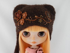 Felted Hat for kohay