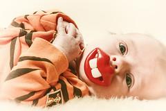 Smile! (Aspiriini) Tags: baby child teeth tiger lips retro dummy aino pacifier soother teat vauva jonilehto aspiriini