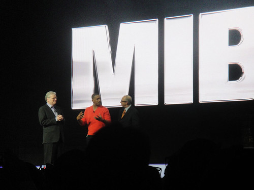 CES 2012 - Will Smith and MIB3 director Barry Sonnenfeld at the Sony press event