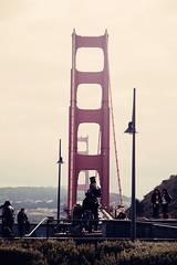 Vista Point (Leighton Wallis) Tags: sanfrancisco california birthday ca usa statue memorial unitedstatesofamerica goldengatebridge vistapoint 75thanniversary navalmonument ggnpc11