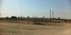 Steel Mill, Basrah, Iraq