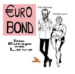 montibond-eurobond (francesco elisei LI) Tags: europa europe euro jamesbond drno angelamerkel mariomonti eurobond 007licenzadiuccidere