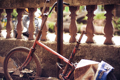 kid is old now 2 (Aadiflick) Tags: old broken childhood lost handle is kid gloomy sad no seat goa bad cycle now paddles punctured specia tathered