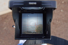 Yashica Mat-124G Focusing Screen (Douglas Bawden Photography) Tags: tlr film mediumformat ishootfilm ektachrome portra twinlensreflex yashicamat124g filmphotography ilovefilm filmisnotdeaditjustsmellsfunny
