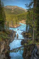 Sunwapta Falls 2 (Aaron D Photography) Tags: park ice field photography jasper aaron falls national parkway hdr 1a sunwapta desjarlais watertfall