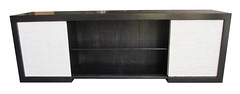 Fairfax credenza with kirei sliding doors - a