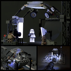 Imperial Photo Studio (ErnestoCarrillo70) Tags: lightpainting lego stormtrooper photostudio starwarsimperial