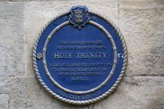 Photo of Holy Trinity, Hull blue plaque