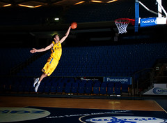 Dunk (noamgalai) Tags: basketball sport studio jump bball strobe dunk maccabi strobes strobist noamgalai  yogevohayon