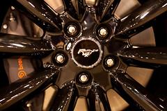 Black Chrome Wheel (Mabry Campbell) Tags: auto usa ford car wheel emblem logo photography us automobile texas unitedstates unitedstatesofamerica january houston mustang theunitedstatesofamerica rim rims fordmustang brand logos carshow brands 2012 canonef50mmf14usm emblems houstonautoshow reliantpark fordmotorcompany harriscounty fordmotor boss302 houstoncarshow canonef50mmf14lusm autoemblem mabrycampbell