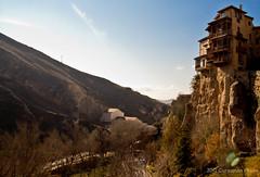 Cuenca - Casas Colgadas (de lejos) (Cursomn) Tags: enero cuenca 2012 casascolgadas hanginghouses canoneos60d efs18135mm