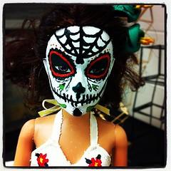 Student Artwork Mexican wrestler Barbie (elephantsgerald) Tags: square lofi thesis squareformat teaching diaspora wahs iphoneography instagramapp uploaded:by=instagram foursquare:venue=4ba51d25f964a52000df38e3
