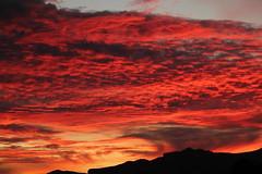 027 (Matt Hays) Tags: sunset red arizona sky orange cloud sun rio yel
