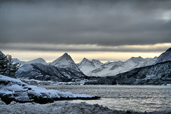 Next stop Mordor ;-) (larigan.) Tags: winter cloud snow mountains grey fjord sunnmørsalpene larigan phamilton magerholm ørsneset licensedwithgettyimages ginordicjan12