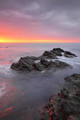 Deep Glow (@Gking_photo) Tags: sea sky seascape colour reflection water clouds sunrise photography coast rocks imac t
