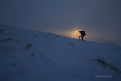 he saw the light..explored! (gobayode photography...times) Tags: winter snow sunrise photographer thesun edale mamtor winterlandscape earlyriser winterscene coldsunrise snowysunrise landscapephotograher articcontionsphotography