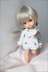 little Morey. (Simmi.) Tags: moon yellow by cookie tan bloody custom limited tanned morey latidoll andreja lati
