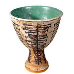 "<b>Goblet</b><br/> Marguerite Wildenhain (1896-1985) ""Goblet"" Ceramic, ca. early 1970's LFAC #2002:04:05<a href=""http://farm8.static.flickr.com/7009/6831796997_af3a7d4282_o.jpg"" title=""High res"">∝</a>"