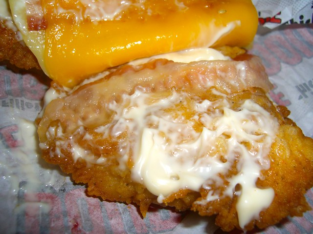 The KFC DOUBLE DOWN arrived in Japan Feb. 2, 2012!
