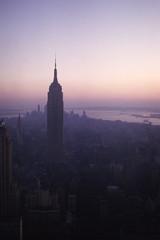 New York ~ November 64 (Steve N London) Tags: usa newyork manhattan unitedstatesofamerica empirestatebuilding 1960s rockefellerobservationdeck