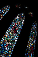 Cathedral Window (albinobobman) Tags: church window glass colorful cathedral stained