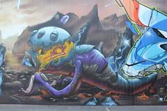 the bird is the word (Pixeljuice23) Tags: streetart bird graffiti mainz friendlyfire birdistheword pixeljuice