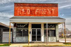 Red Front (KYcactus) Tags: county urban brick facade america mom town decay kentucky small pop faded storefront owensboro daviess