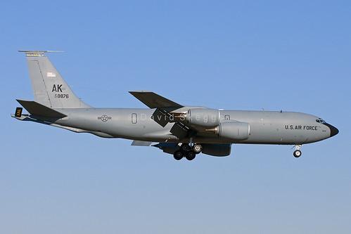 63-8876 KC-135R Stratotanker - AK / 168thARS/168thARW/ AK ANG - Eielson AFB, AK