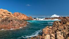 Canal Rocks (jan_clewett) Tags: beach river canal rocks australia western margaret smiths rockpools