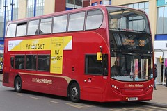 National Express West Midlands Alexander Dennis Enviro400 4855 (BX61 LML) (john-s-91) Tags: birmingham vueling route33 4855 alexanderdennisenviro400 nationalexpresswestmidlands bx61lml